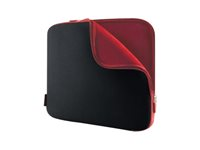 "Belkin Neoprene Sleeve for Notebooks up to 15.6"" - Housse d'ordinateur portable - 15.6"" - noir de jais, cabernet F8N160EABR"